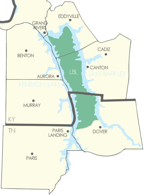 Land Between The Lakes Region